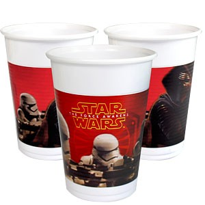 Star Wars plastkopper 8 stk