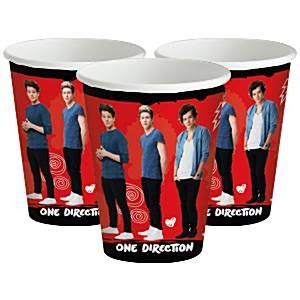 One Direction pappkrus 8 stk
