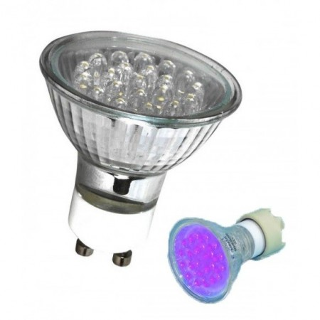 Omnilux UV LED blacklight GU-10 230V