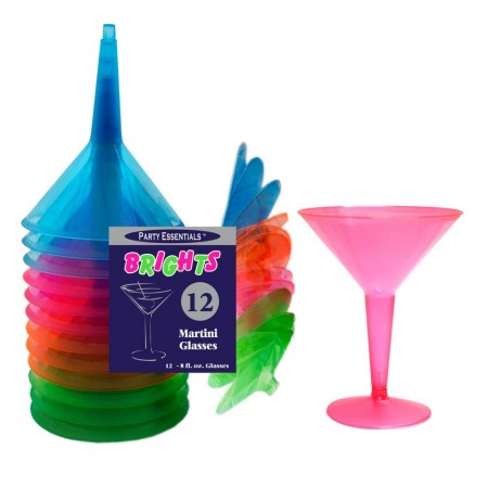 UV Martini glass 12 stk