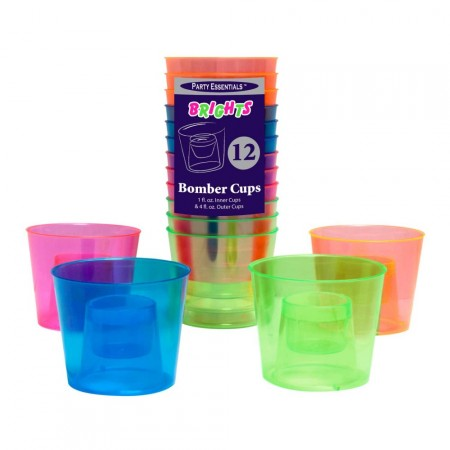 UV bomber shot glass 12 stk